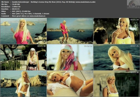 Daniela Katzenberger – Nothing's Gonna Stop Me Now [2010, HDrip] Music Video