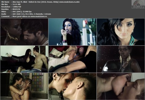 Alex Sayz ft. Sibel – United As One [2010, HDrip] Music Video