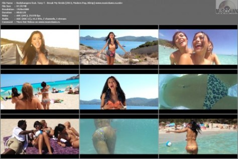 Bodybangers feat. Tony T – Break My Stride [2013, HD 1080p] Music Video