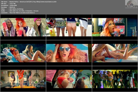 Bonnie McKee – American Girl [2013, HD 1080p] Music Video
