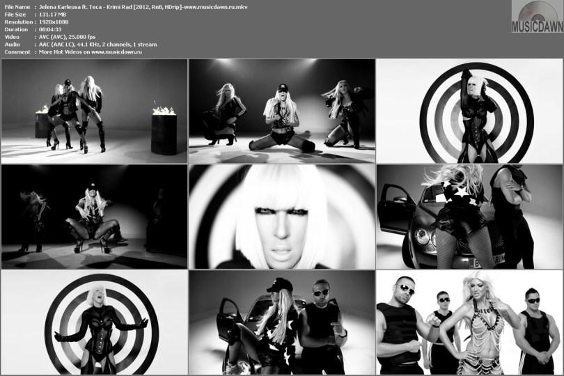 Jelena Karleusa ft. Teca - Krimi Rad [2012, RnB, HD 1080p]