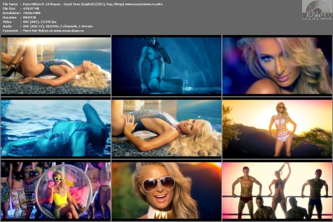 Paris Hilton ft. Lil Wayne - Good Time (Explicit) [2013, Pop, HD 1080p]