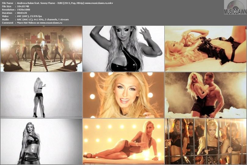 Andreea Balan feat. Sonny Flame - IUBI [2013, Pop, HD 1080p]