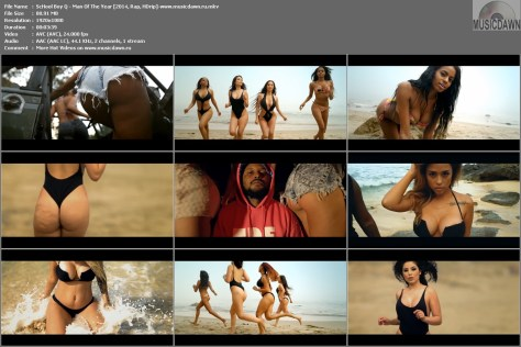 ScHool Boy Q – Man Of The Year [2014, HD 1080p] Music Video