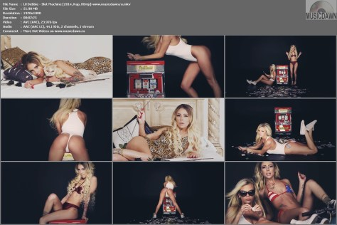 Lil Debbie - Slot Machine [2014, Rap, HD 1080p]