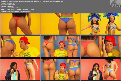 Jeffrey Spalburg – Maracana (Official World Cup Song) [2014, HD 1080p] Music Video