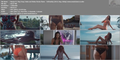 Maejor ft. Ying Yang Twins and Waka Flocka Flame – Tell Daddy [2014, HDrip] Music Video