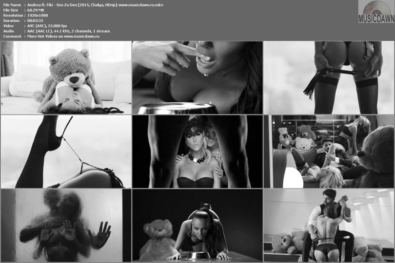 Клип Андреа и Фики - Секс за ден | Andrea ft. Fiki - Sex Za Den [2015, HD 1080p]
