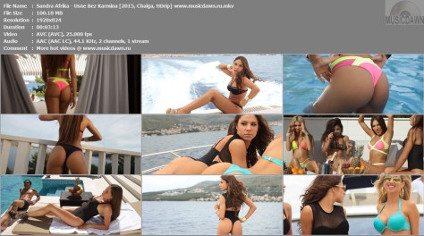 Sandra Afrika – Usne Bez Karmina [2015, HD 1080p] Music Video