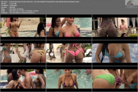 Клип French Montana ft. Drake & Rick Ross – Pop That (Explicit Version) [2012, HD 1080p] Music Video