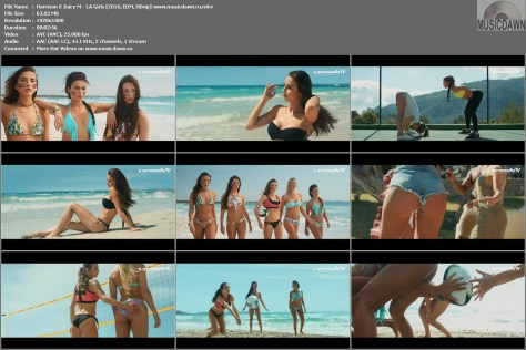 Клип Harrison X Juicy M – LA Girls [2016, HD 1080p] Music Video