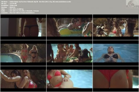 Клип Ardian Bujupi & Dj R'an feat. Mohombi & Big Ali – Kiss Kiss [2017, 2KHD] Music Video