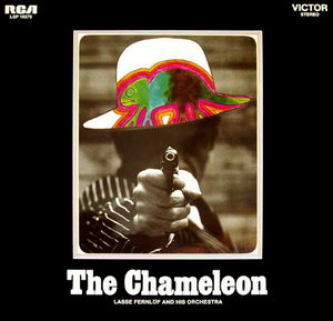 Lasse Fernlof And His Orchestra - The Chameleon OST 1969 RCA LP Front Cover Art