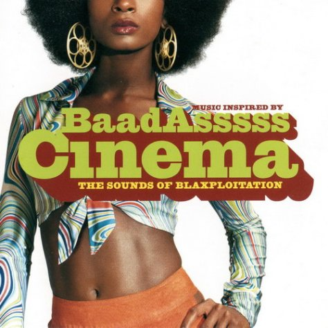 Various Artists - Baadasss Cinema OST (TVT Label) Front Cover Art