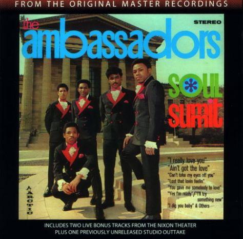 The Ambassadors - Soul Summit '1969 CD Cover Art Front