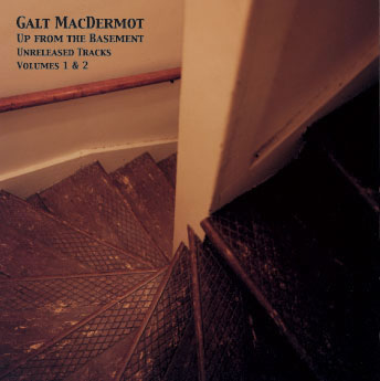 Galt MacDermot - Up From The Basement Unreleased Tracks Vol. 1 & 2 Front Cover 2