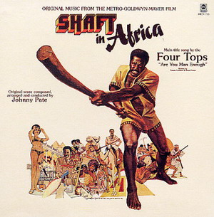 Johnny Pate - Shaft In Africa Cover Art