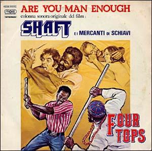 Johnny Pate - Shaft In Africa Italian Cover Art