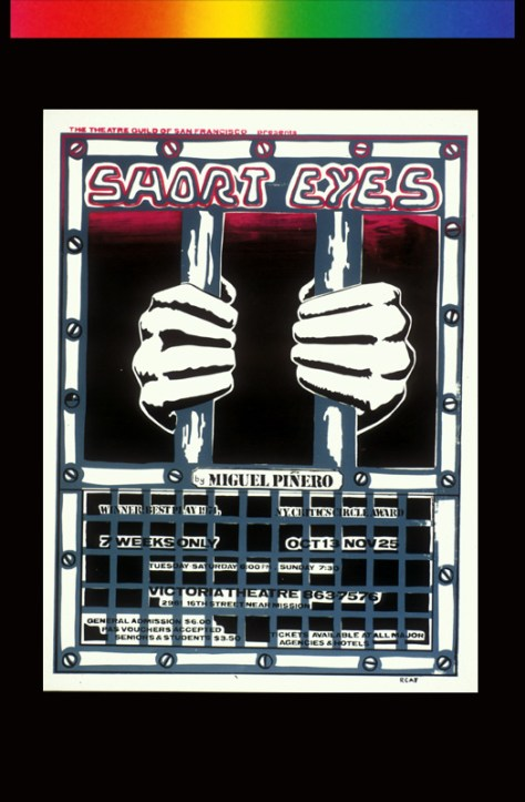 Short Eyes Theater Poster