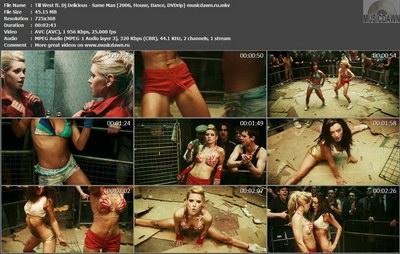 Till West ft. Dj Delicious - Same Man (2006, House, Dance, DVDrip)