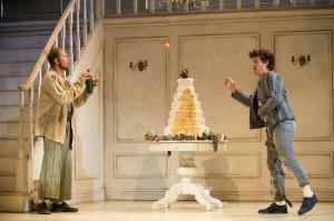 Piotr Lempa (Orestes), Peter Aisher (Demus), English Touring Opera // Cavalli, Jason (Giasone). Photo: Richard Hubert Smith.