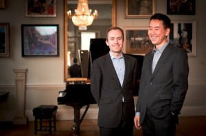 Parnassius piano duo: Simon Callaghan and Hiro Takenouchi