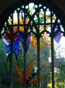 Paradise Window, St Brandon's Church.