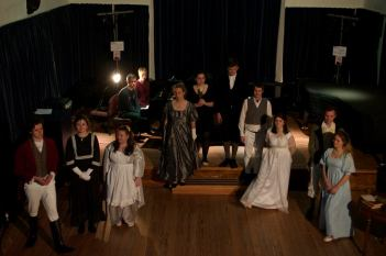 Mansfield Park rehearsal photo - DOE