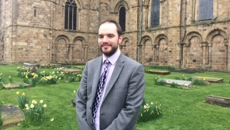 Interview: meet Daniel Cook, Durham's new organist