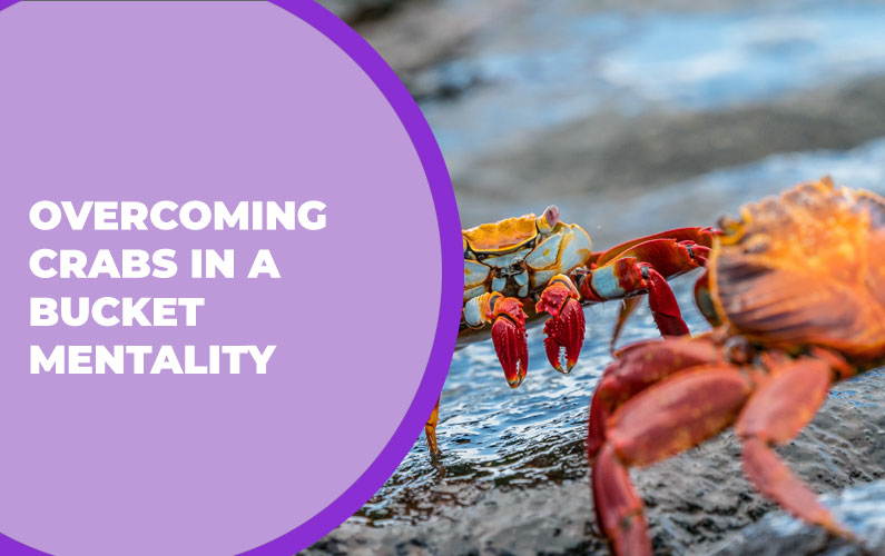 Overcoming Crabs in a Bucket Mentality