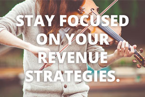 Various revenue strategies for musicians