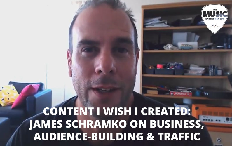 Content I Wish I Created Part 1: James Schramko Interview with www.PromoteYourMusic.net