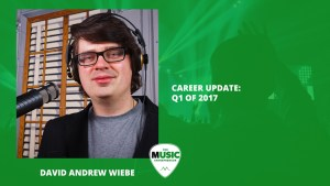 Music news from David Andrew Wiebe