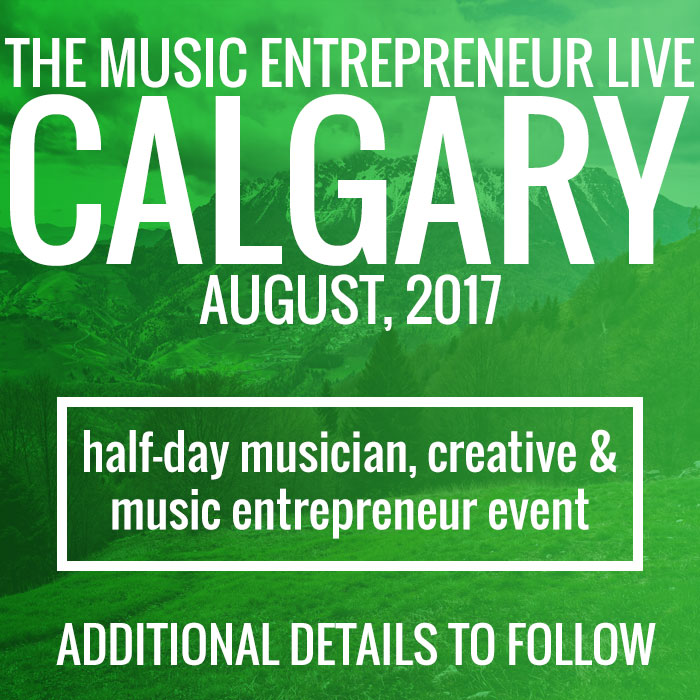 The Music Entrepreneur Live