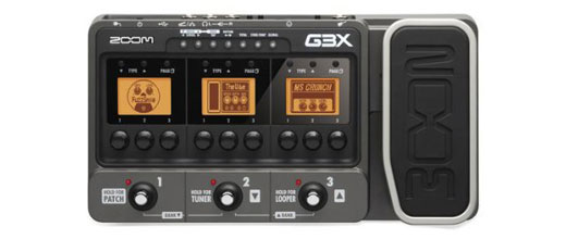 Zoom G3X Guitar Effects & Amp Simulator