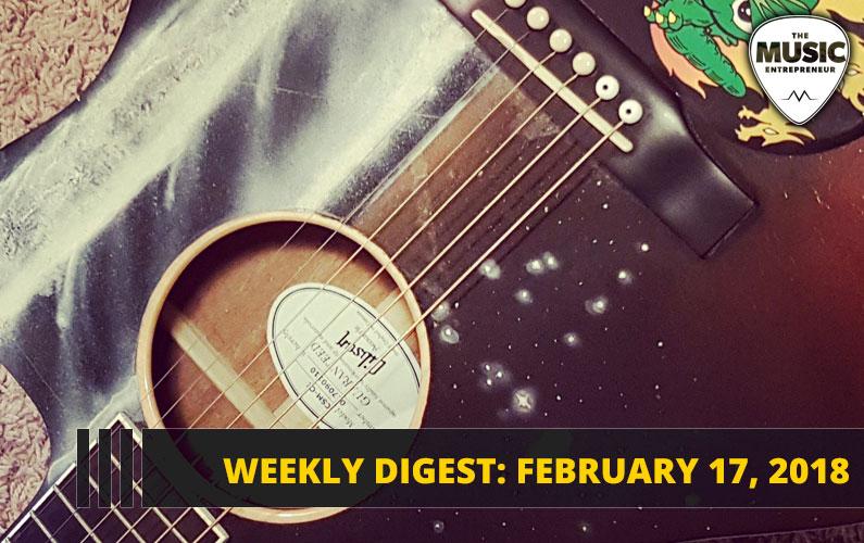 Weekly Digest: February 17, 2018