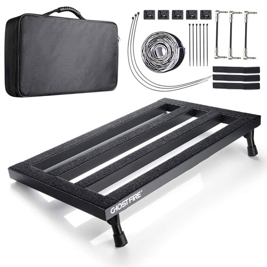 Aluminum alloy lightweight pedalboard