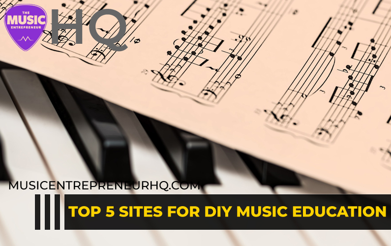 TOP 5 SITES FOR MUSIC EDUCATION