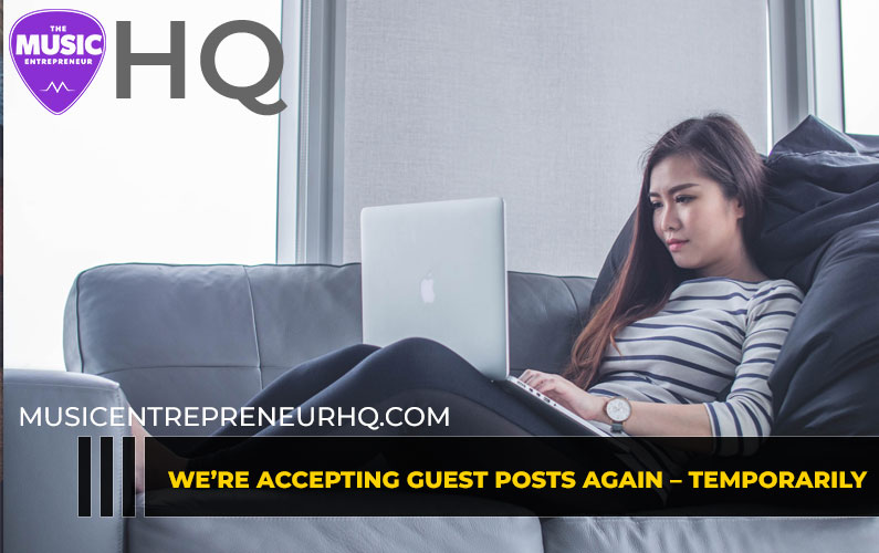We're Accepting Guest Posts Again – Temporarily