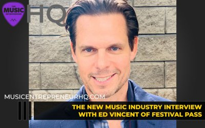 189 – A Behind-the-Scenes Look at the Live Event Industry – with Ed Vincent of Festival Pass