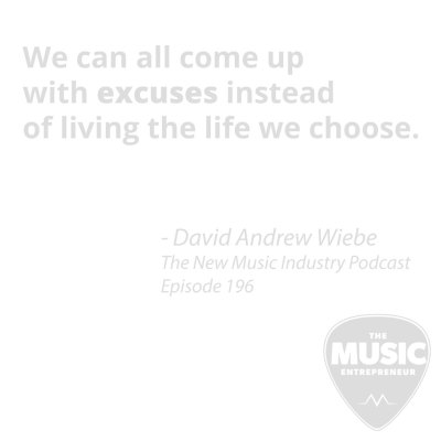 David Andrew Wiebe quote from episode 196