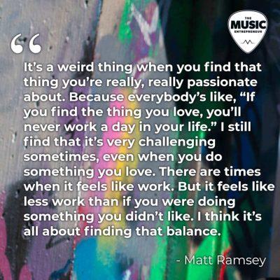 Episode 198 Matt Ramsey quote