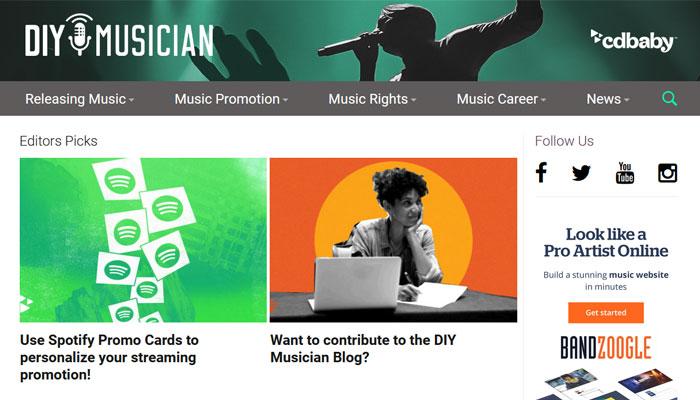 DIY Musician Blog
