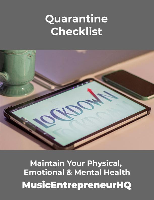 Quarantine Checklist