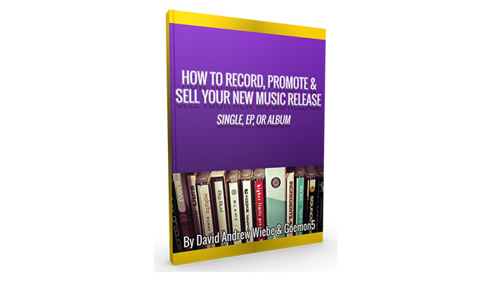 How to Record, Promote & Sell Your New Music Release