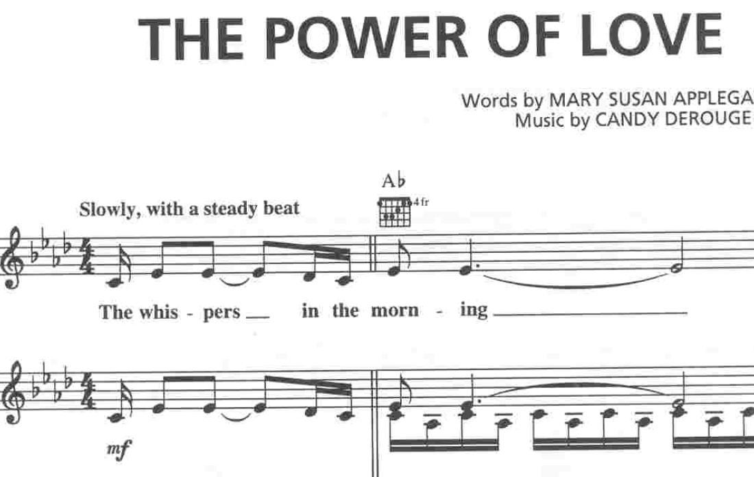 Celine Dion Power of love