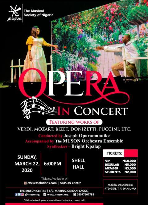 MUSON concert opera