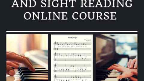 piano and sight reading online course