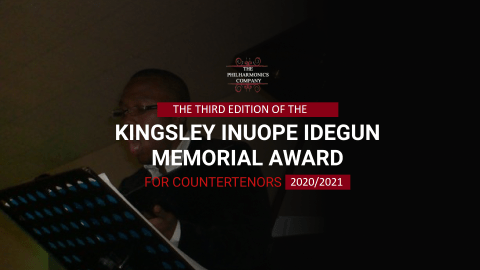 Kingsley Inuope Idegun Memorial Award for Countertenor