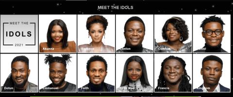 Nigerian Idol Season 6 Contestants